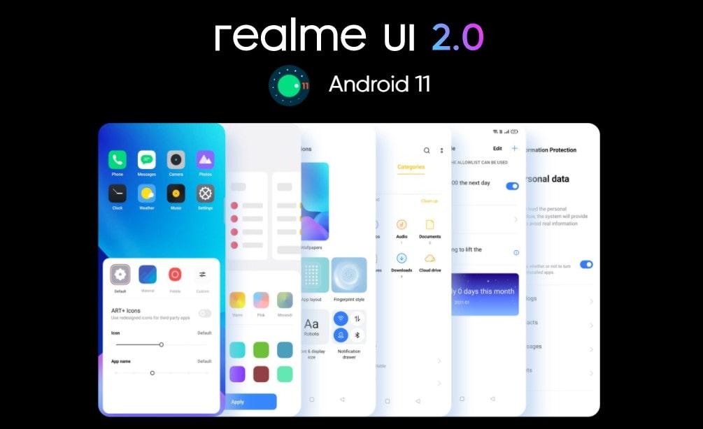 Realme 8 Pro systém