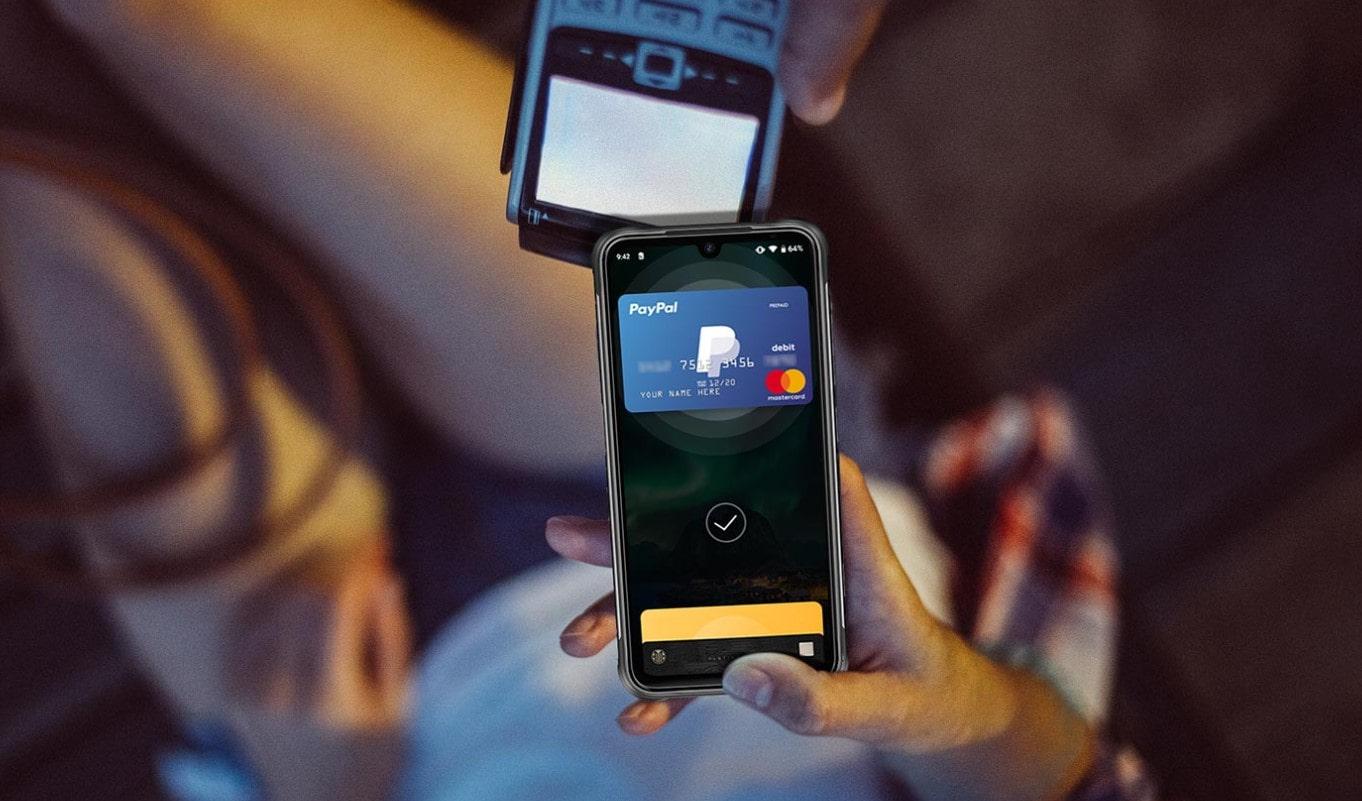 UMIDIGI BISON platba NFC