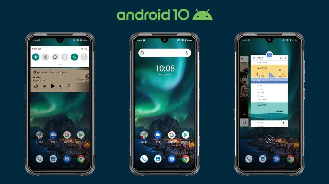 UMIDIGI BISON systém Android 10