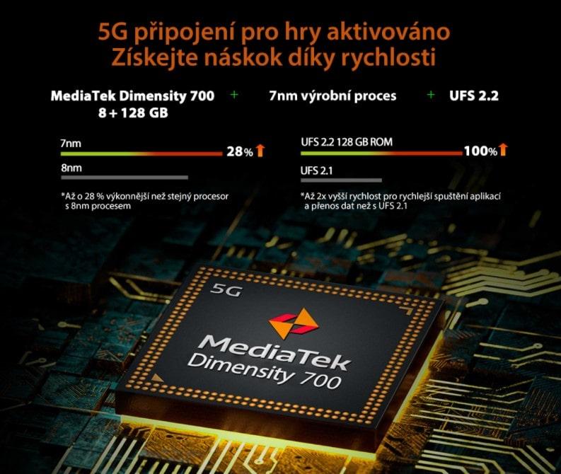 iGET Blackview GBL5000 procesor a výkon
