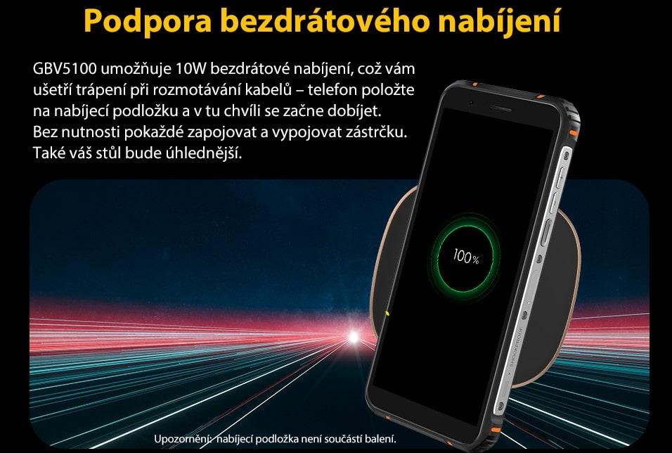 GBV5100 bezdrátové nabíjení