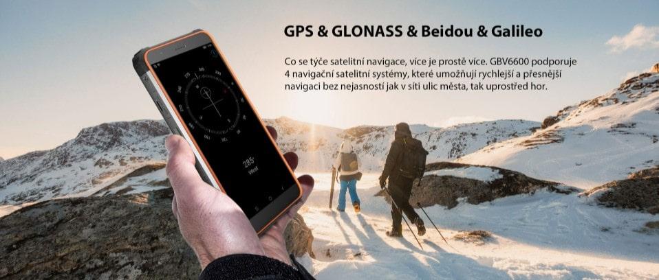 iGET Blackview GBV6600 výčet navigačních systémů