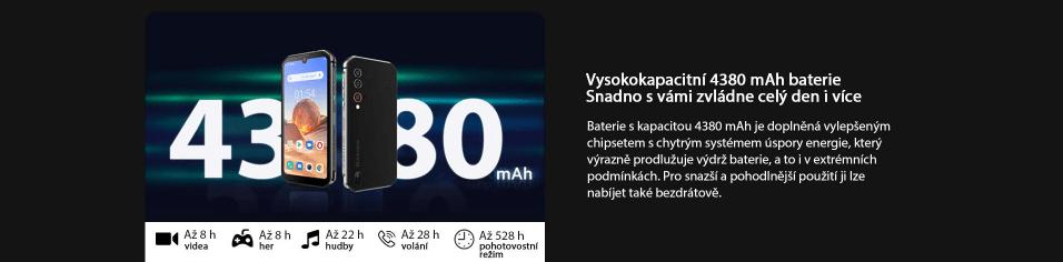 GBV9900E kapacita baterie