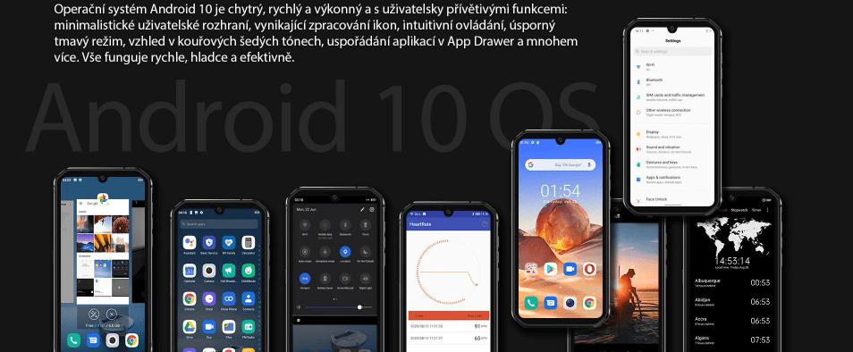 GBV9900E systém Android 10