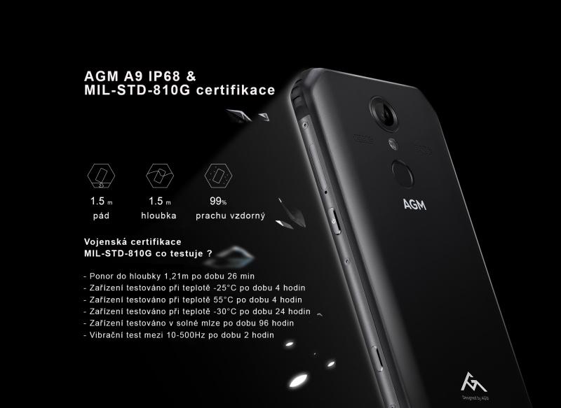 AGM A9 odolnost
