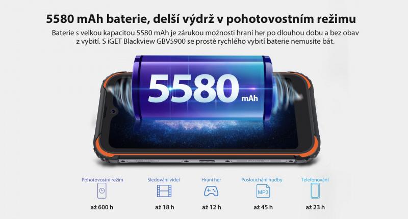 GBV5900 baterie
