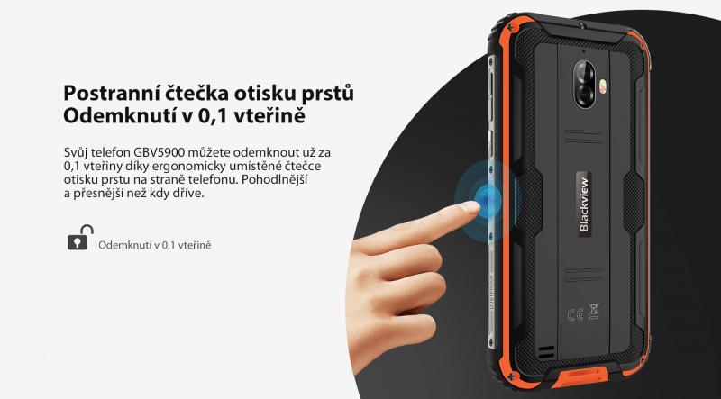 GBV5900 čtečka otisku prstu