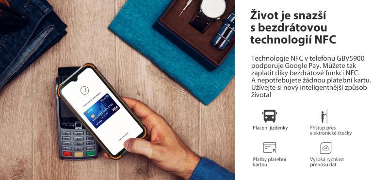 GBV5900 NFC bezkontaktní platby