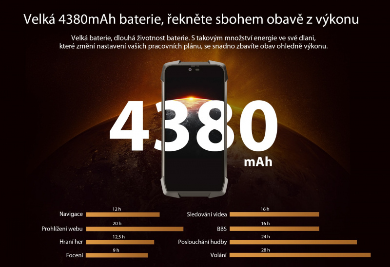 GBV9700 Pro baterie