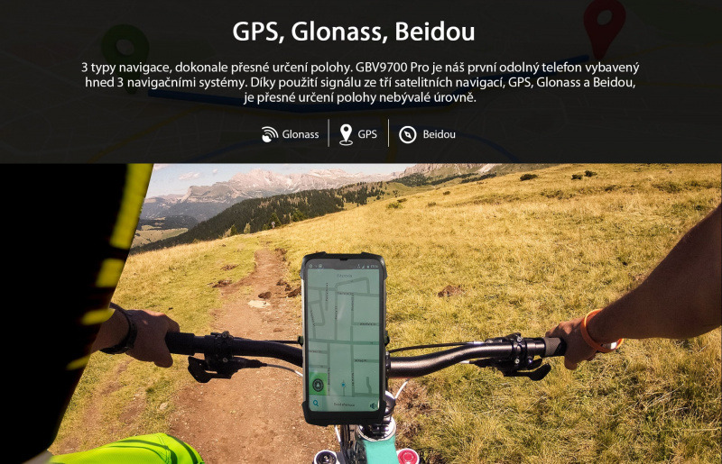 GBV9700 Pro GPS a GLONASS