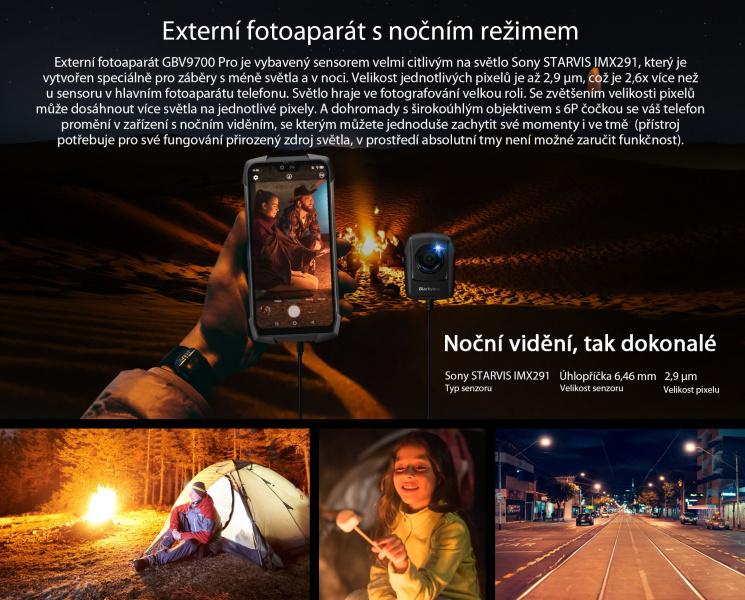 iGET noční kamera