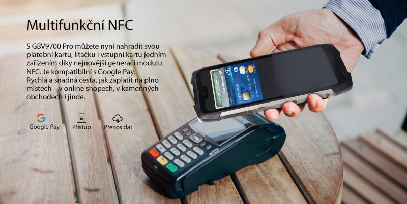 GBV9700 Pro NFC platby