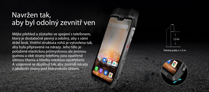 iGET GBV9700 Pro pády