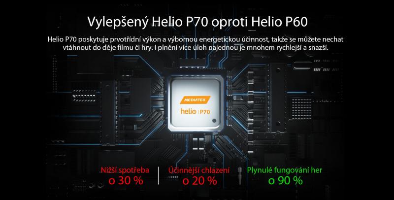 iGET GBV9700 Pro procesor