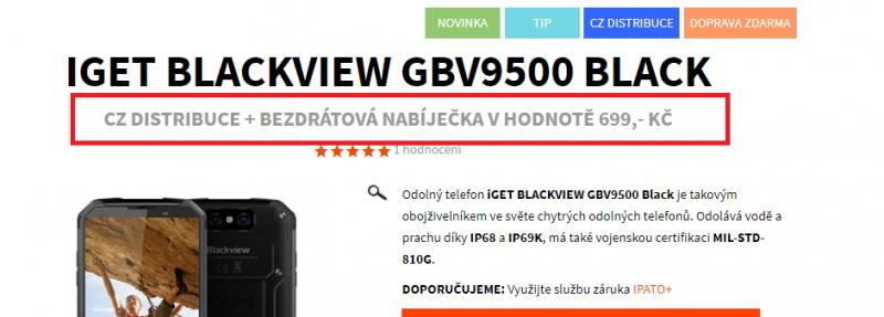 GBV9500 AKCE