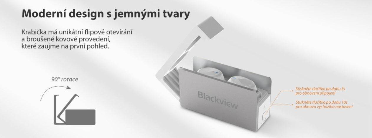 iGET Blackview Airbuds G2 vzhled