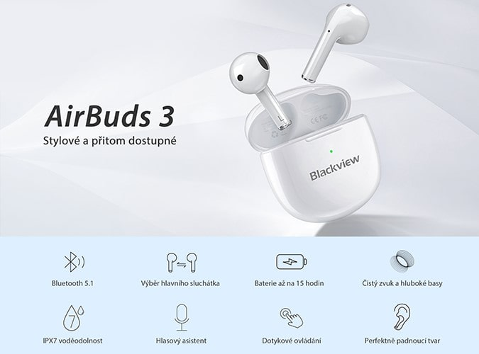 iGET Blackview Airbuds G3 parametry