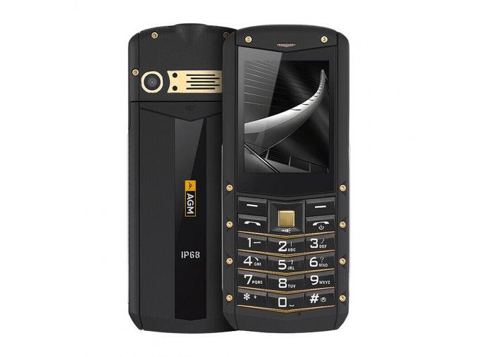 Odolný tlačítkový telefon