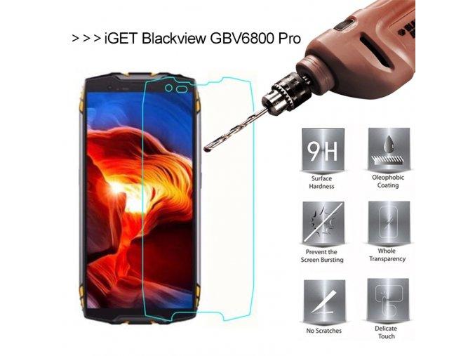 tvrzené sklo iget blackview GBV6800 Pro