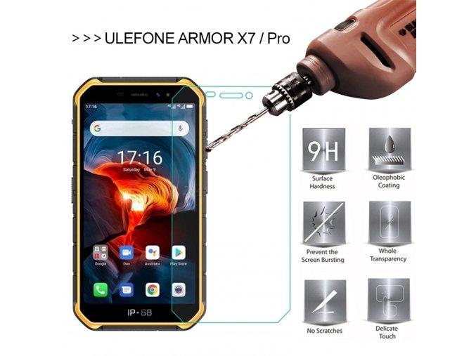 ulefone armor X7 pro ochranne sklo folier
