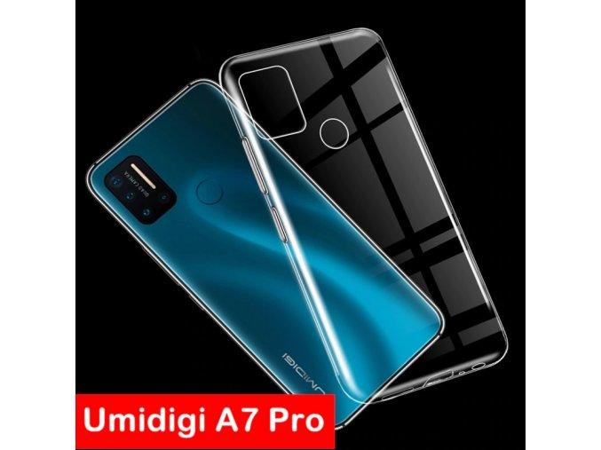 Umidigi a7 pro pouzdro obal silikonové průhledné