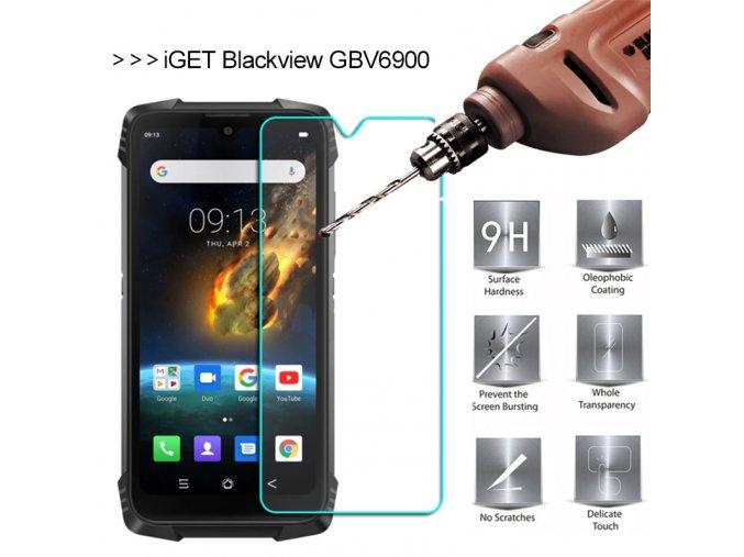 iget blackview gbv6900 ochranne sklo tvrzene