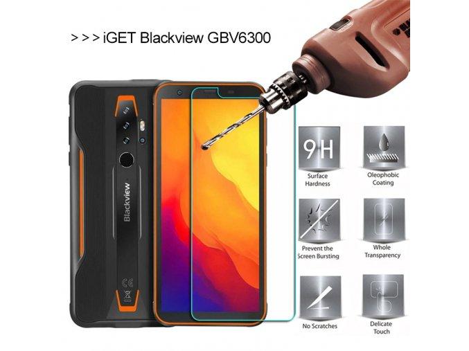 iget blackview gbv6300 ochranne sklo tvrzene