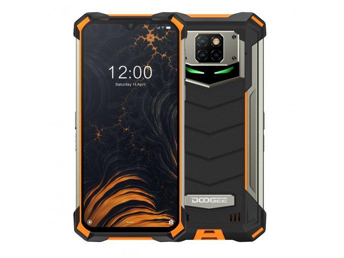 DOOGEE S88 PRO oranzova akce sleva odolny telefony