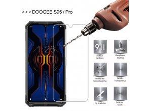 doogee S95 tvrzene sklo