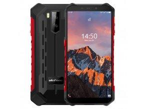 ulefone armor X5 pro ipato odolne telefony cervena