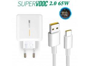 65W Super VOOC nabíječka s kabelem
