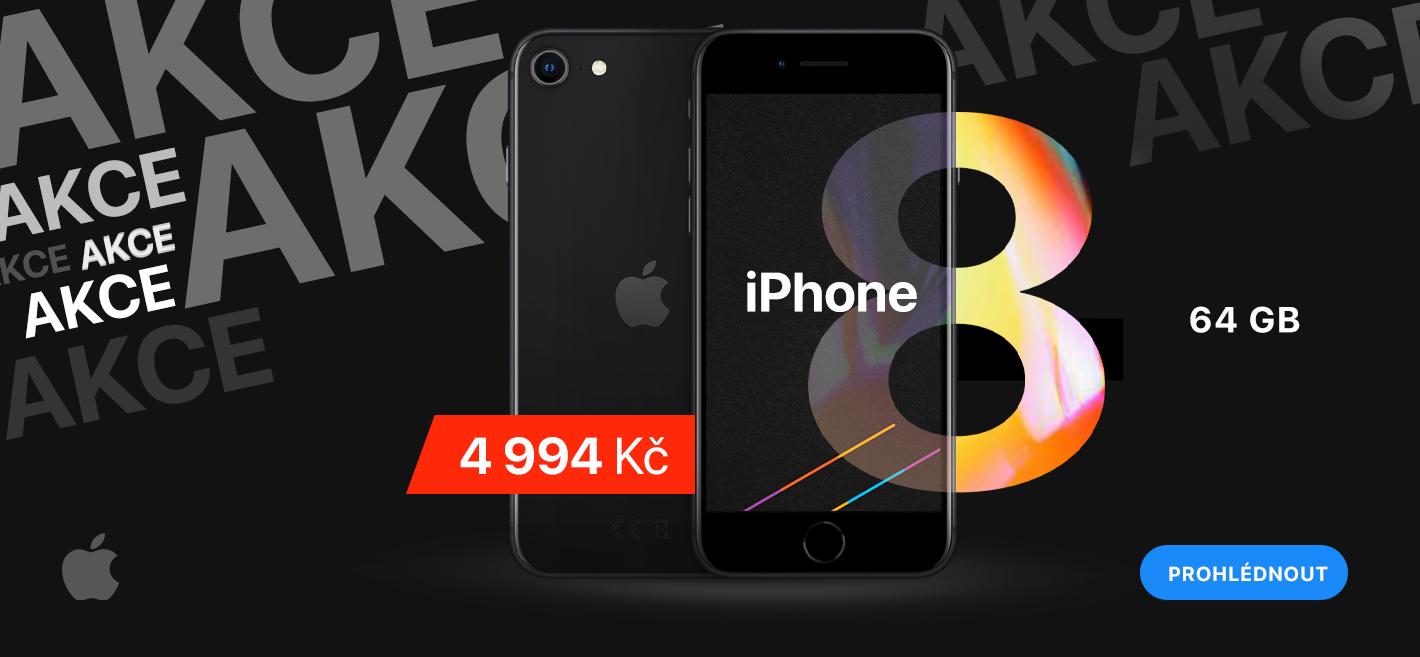 Akce iPhone 8
