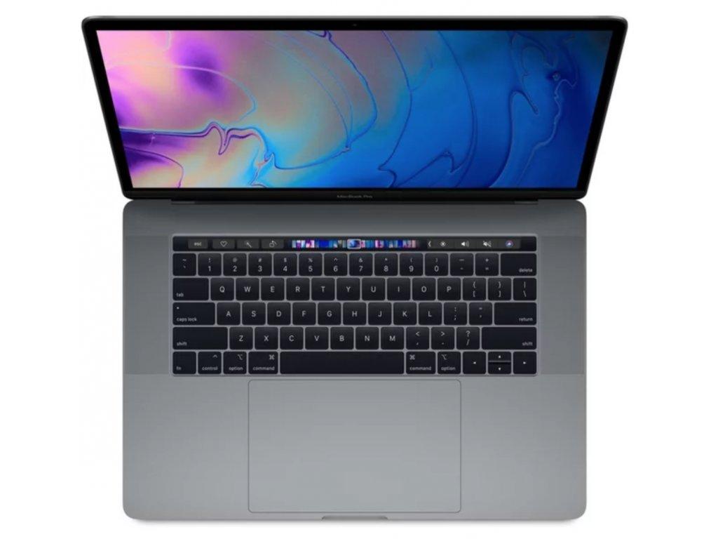 """Apple MacBook Pro 15,4"""" Touch Bar / 2,2GHz / 16GB / 256GB / R555X / vesmírně šedý (2018)"""