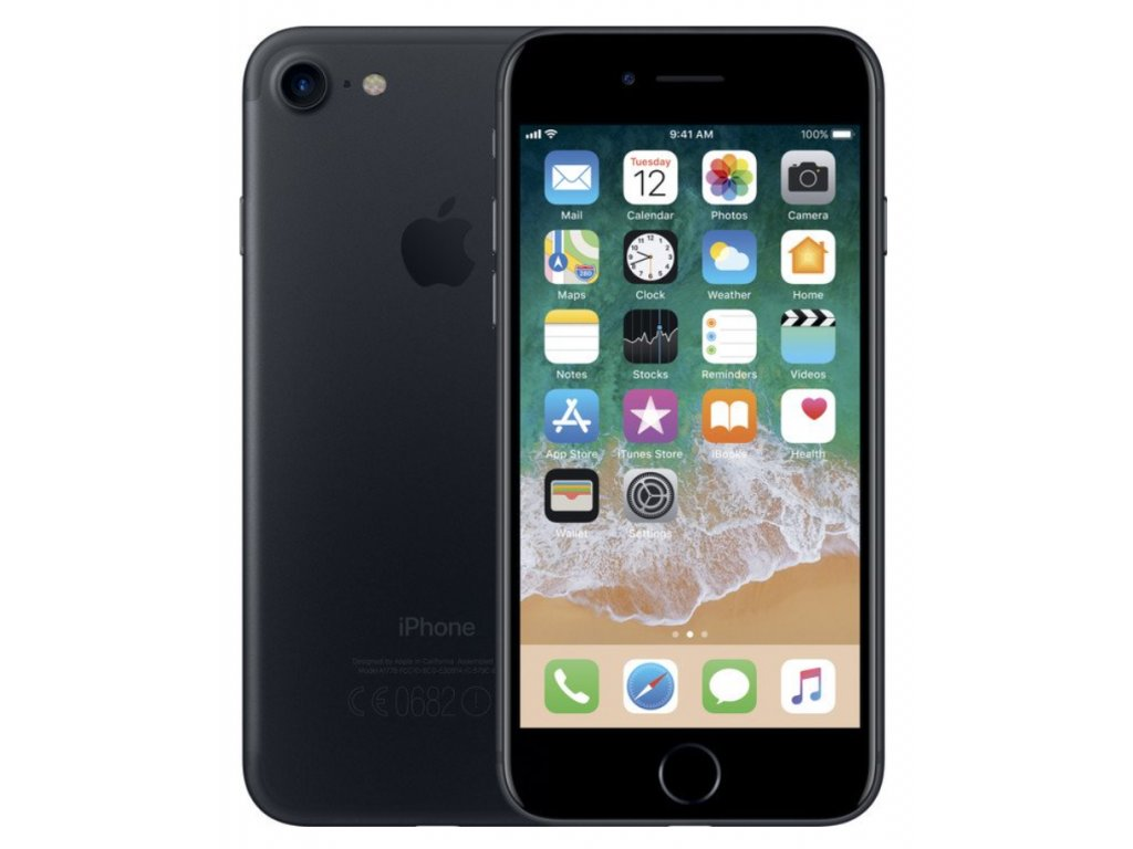"Apple iPhone 7 128GB Matte Black ""B GRADE"""