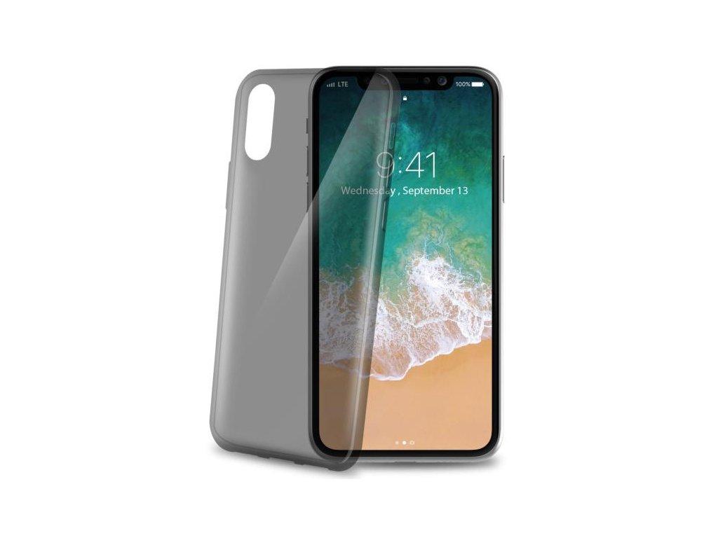 Kryt na mobil Celly Ultrathin pro Apple iPhone X/Xs černý