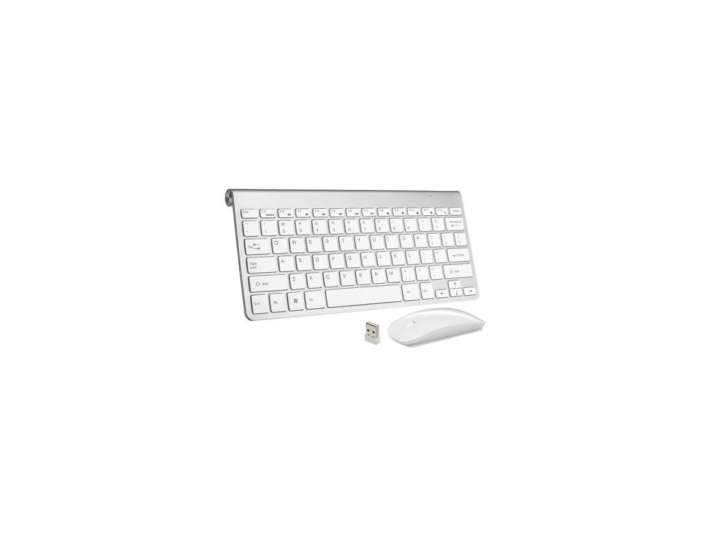 MINI WIRELESS 24GHZ Mouse AND Keyboard COMBO APPLE