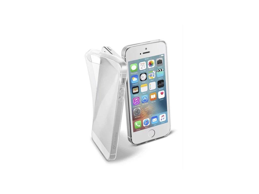 CellularLine Fine tenký kryt Apple iPhone 5/5S/SE čirý