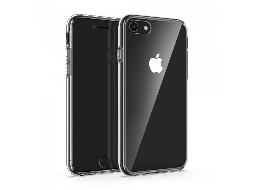 Tvrzený gelový obal pro iPhone 5-11 Pro Max - Pevná záda (podpora bezdrátového nabíjení)
