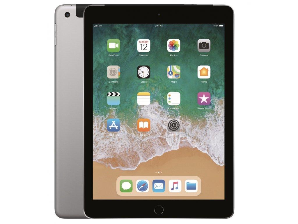 Apple iPad 6 Generace 128GB Wi-Fi + Cellular Space Gray 2018