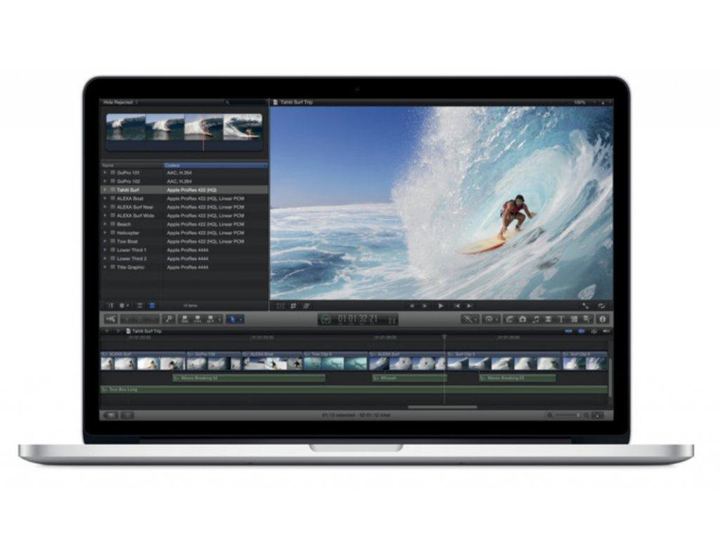 "Apple MacBook Pro 15,4"" Core i7 / 2,3 GHz / 8 GB / 256 GB SSD GT 650 2012"