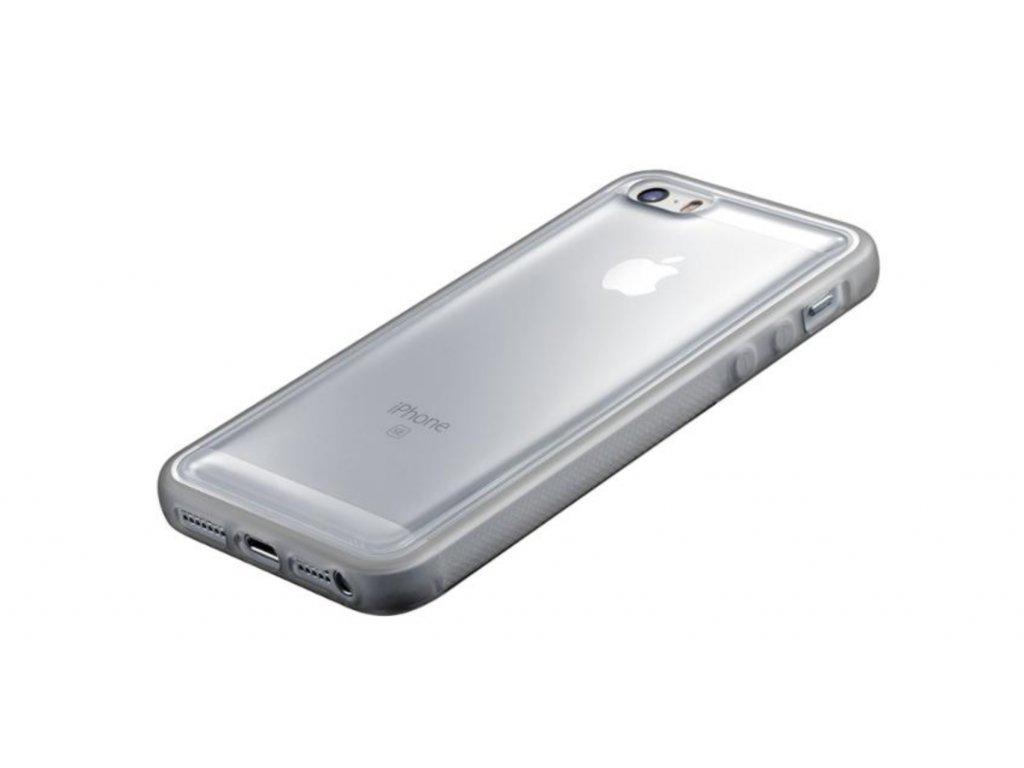 Kryt na mobil CellularLine ANTI-GRAVITY na Apple iPhone 5/5s/SE průhledný (ANTIGRAVCIPH5T)