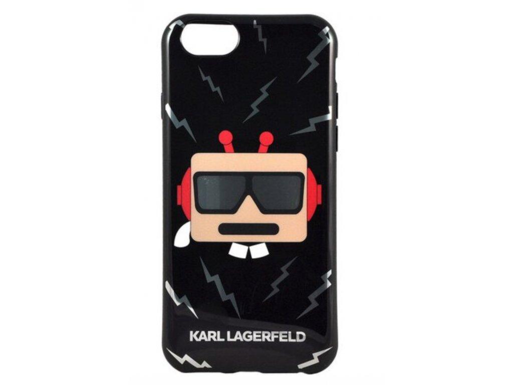Karl Lagerfeld Karl Robot TPU pouzdro iPhone 6/6S černé