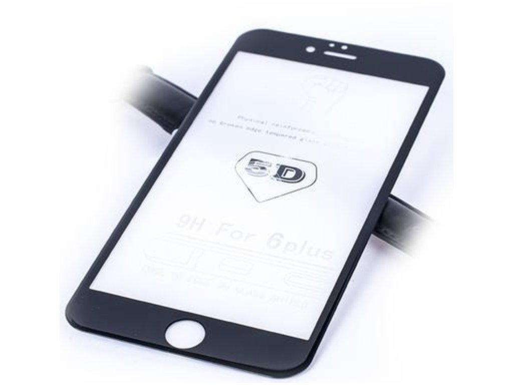 Tvrzené sklo pro iPhone 6/6s Plus 5D Black