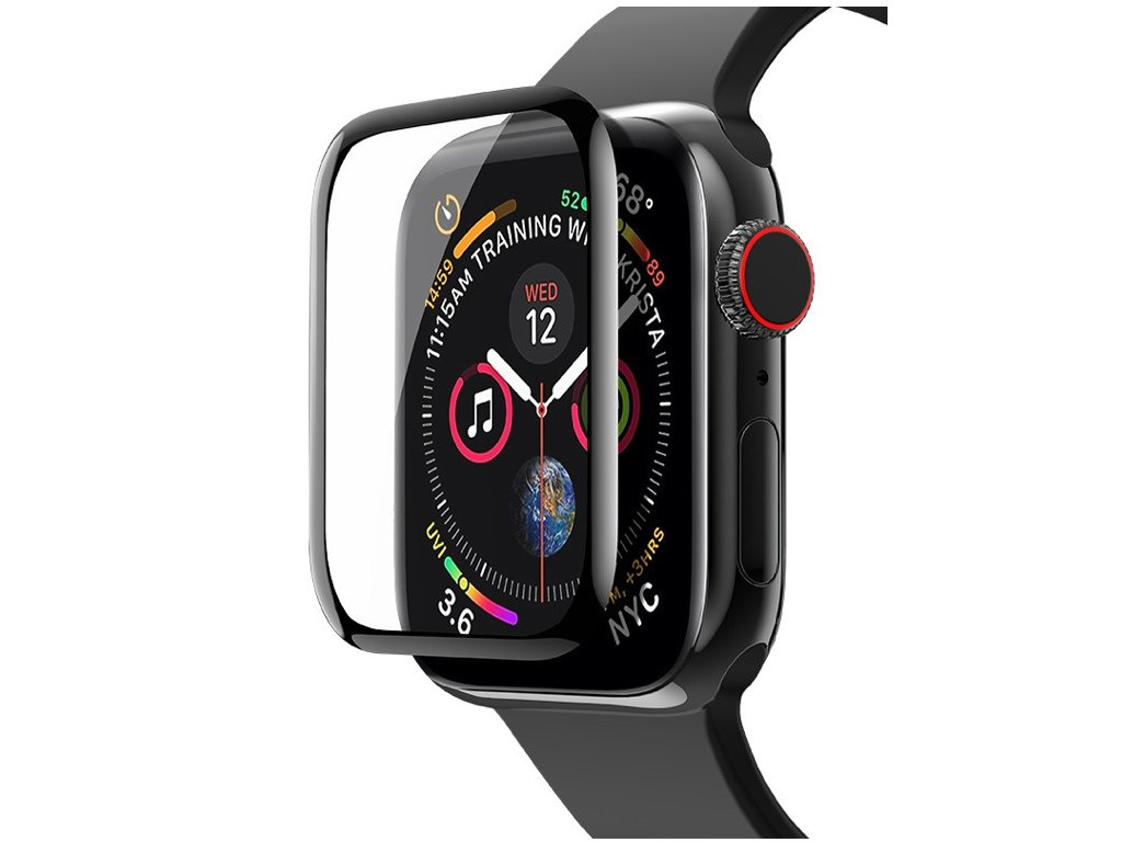 Tvrzené sklo pro Apple Watch 38 mm Black