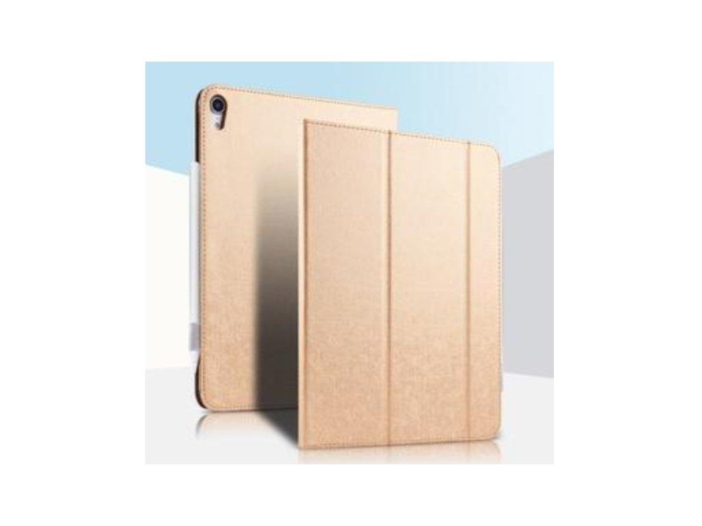"""Pouzdro iPad Air 10.5"""" kožený přední kryt zlatý"""
