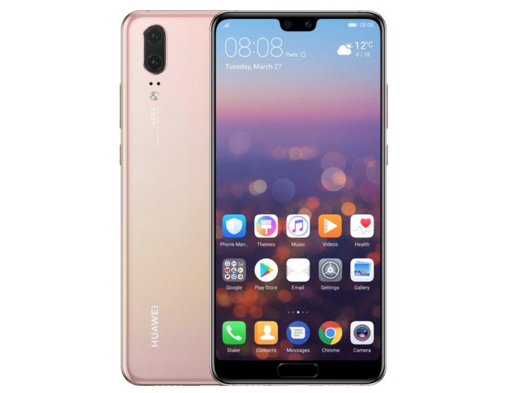 Huawei P20, 4GB/128GB, Dual Sim, Pink Gold