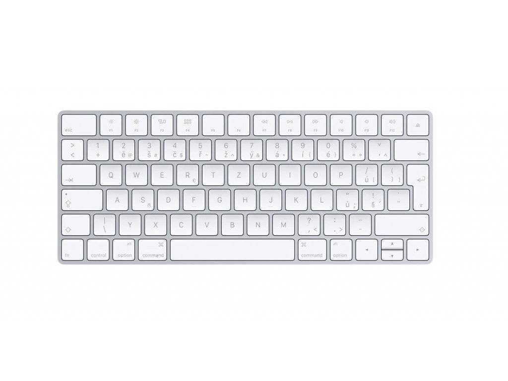 Apple Magic Keyboard 2 CZ Loyout - Vystavená