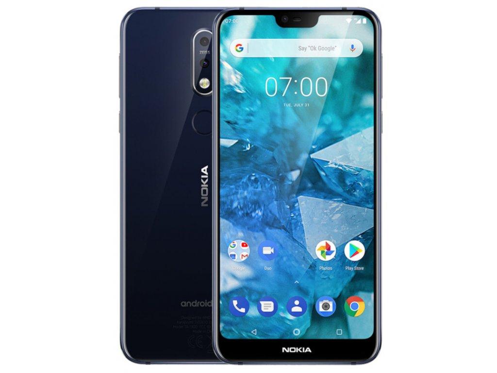 Nokia 7.1, Dual Sim, 4GB/64GB, černá