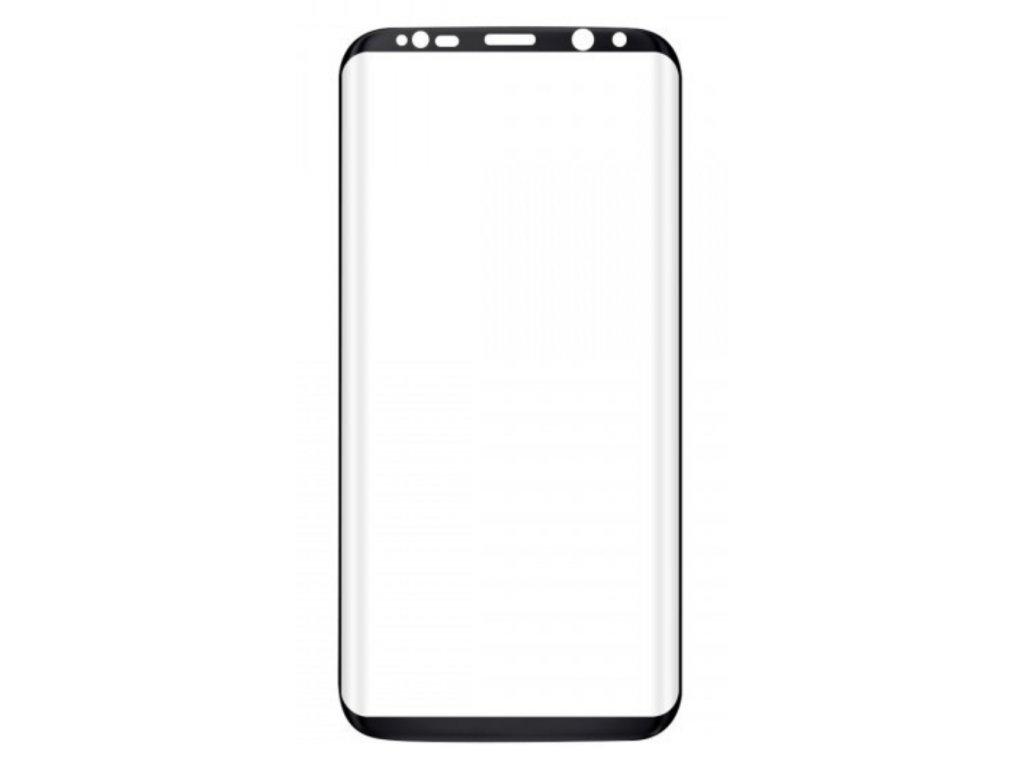 Tvrzené sklo pro Samsung S8+ Black - small size