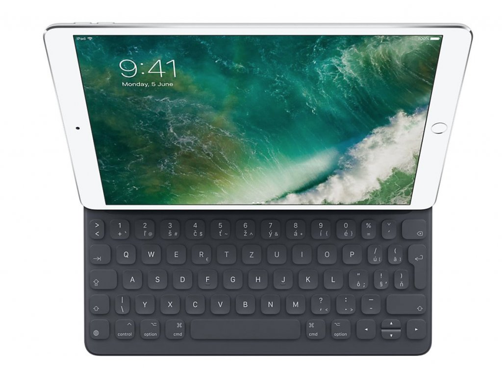 """Apple Smart Keyboard pro 10.5"""" iPad Pro CZ Layout """"B Grade"""" 3"""